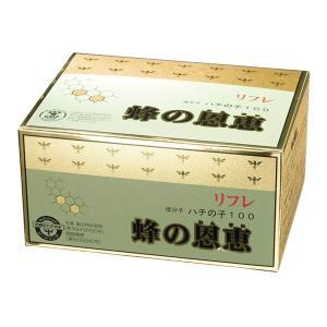 リフレ 蜂の恩恵 サプリメント 36.77g(383mg×96粒 蜂の子サプリ 日本製 耳鳴り 蜜蜂の子 加工食品 健康食品)|tricycle