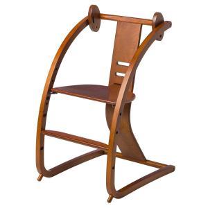 Sdi Fantasia Bambini バンビーニ 日本製 チェア ライトブラウン STC-04(椅子 子供 乗用玩具 木馬 おもちゃ 足置き 木製 ベビーチェア ハイタイプ)|tricycle