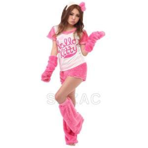 サザック なりきり5点セット ハローキティ(Hello Kitty グッズ 衣装 着ぐるみ コスプレ)|tricycle