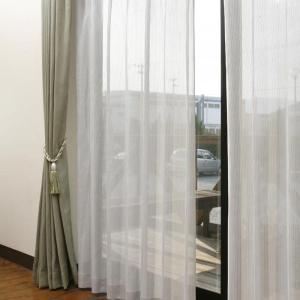 SEKISUI 積水 masa 遮熱UVカットレース SP3075 100×213cm 2枚入り(遮光 カーテン)|tricycle