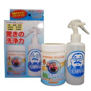 SUPER洗剤革命300gセット(エコ 業務用 洗濯 洗浄 除菌 脱臭 酵素 消臭 スプレー ランキング)|tricycle