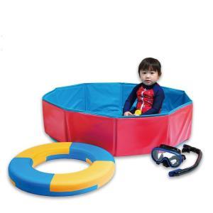 リトルプリンセス フォールディング キッズプール(幼児 子供 家庭 用 プール 1歳 水遊び おもちゃ)|tricycle