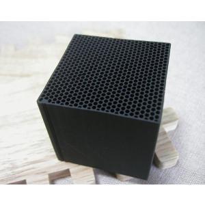 CHIKUNO CUBE チクノキューブ 3個セット 自然の空気清浄 CUB-3CC(竹炭 効果 チャコール パウダー 消臭 除湿 調湿 インテリア おしゃれ ギフト)|tricycle