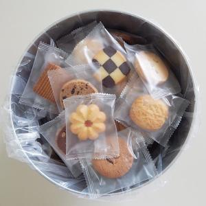 バケツ缶 クッキー(個包装 バレンタイン ホワイト デー 職場 会社 義理 安い プチギフト 詰め合わせ おしゃれ)の画像