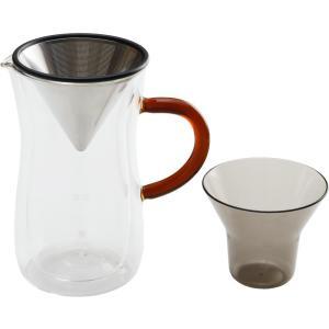 毎日のコーヒータイムが特別になる。ステンレスフィルターのメッシュサイズにこだわり、抽出効率をアップさ...