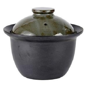 SALIU 炊飯土鍋 2合炊き 黒(直火対応 土鍋 炊飯 二重蓋 美濃焼き 陶器 おしゃれ 日本製)|tricycle
