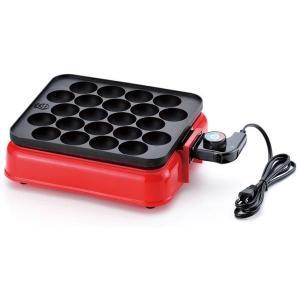 あつほかダイニング 角型電気たこ焼器22穴(たこ焼き器 機 ホットプレート たこ焼きパーティー 具)|tricycle