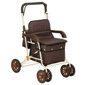 幸和製作所 テイコブ TacaoF シルバーカー スタンダードタイプ ボクスト ブラウン|tricycle