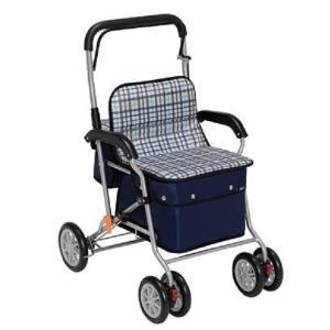 幸和製作所 テイコブ TacaoF シルバーカー スタンダードタイプ ボクスト チェックブラック|tricycle
