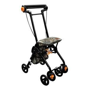幸和製作所 テイコブ TacaoF シルバーカー テイコブナノン CPS03 フラワーブラック|tricycle