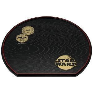 STAR WARS スター・ウォーズ 半月盆 山中塗 反乱軍 C-3PO・R2-D2(和食器 漆器 トレイ グッズ)|tricycle