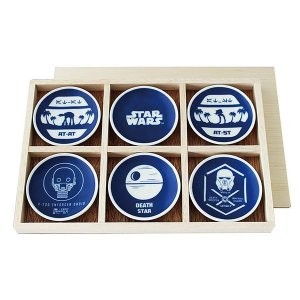 STAR WARS スター・ウォーズ 小皿6Pセット 木箱入(和食器 食器 ギフト 贈答品 キャラクター グッズ)|tricycle