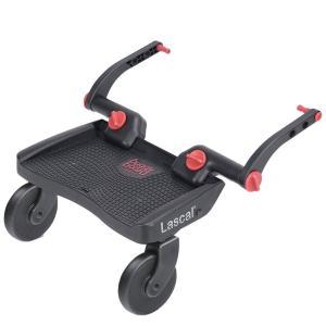 Lascal ラスカル バギーボード レッド(ベビーカー 立脚ボード ベビーカー用ステップ 二人乗り)|tricycle