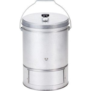 バンドック BUNDOK スモーク缶 温度計付(燻製器 スモ...