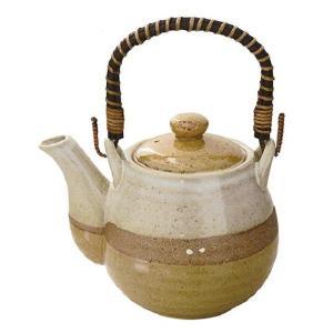土瓶 掛分黄瀬戸 800ml(和食器 茶器 急須 陶器 日本製 おしゃれ)|tricycle