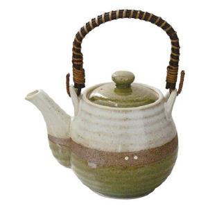 土瓶 掛分織部 800ml(和食器 茶器 急須 陶器 日本製 おしゃれ)|tricycle