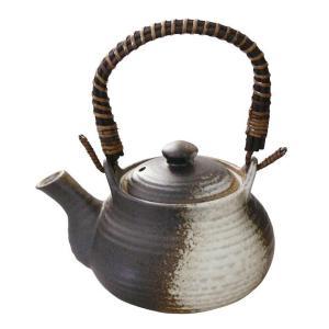 5号土瓶 備前釉 760ml カップ網付(茶こし 和食器 茶器 急須 陶器 日本製 おしゃれ)|tricycle