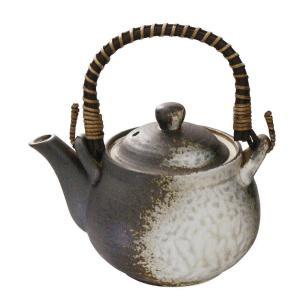 4号土瓶 備前釉 500ml カップ網付(茶こし 和食器 茶器 急須 陶器 日本製 おしゃれ)|tricycle