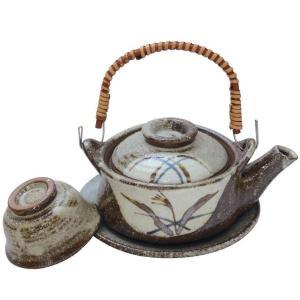 土瓶むし 秋草 230ml(蒸し 和食器 茶器 急須 陶器 日本製 おしゃれ)|tricycle