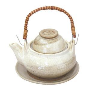 土瓶むし 白掛分 350ml(蒸し 和食器 茶器 急須 陶器 日本製 おしゃれ)|tricycle