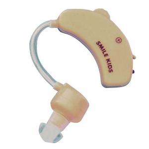 スマイルキッズ 耳掛け式集音器II AKA-108(補聴器 イヤホン 両耳対応 シルバー用品)|tricycle