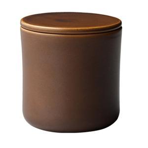 KINTO キントー SCS スローコーヒースタイル コーヒーキャニスター ブラウン(磁器 おしゃれ)|tricycle