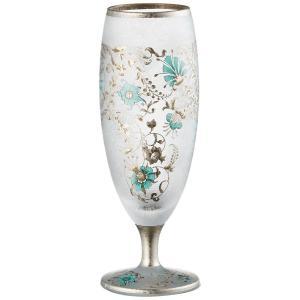 エル・ドラード アラベスク・シルバー sake 125ml(日本酒グラス ガラス冷酒器 タンブラー)|tricycle