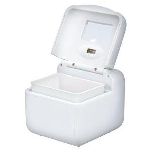 YAZAWA UV殺菌機能付き 音波入歯洗浄機 ホワイト(高速振動 シルバー 介護 用品 入れ歯洗浄器 ランキング 定番 携帯)|tricycle