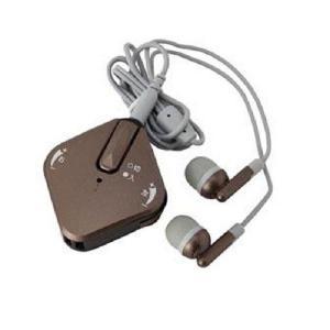 YAZAWA ヤザワコーポレーション 左右の聞こえが調整できる疲れにくい集音器 SLV11BR(補聴器  イヤホン 両耳対応 シルバー用品)|tricycle