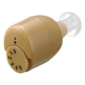 YAZAWA ヤザワコーポレーション 耳の中に隠れて目立たない 小さな片耳集音器 SLV03BR(補聴器 イヤホン シルバー用品)