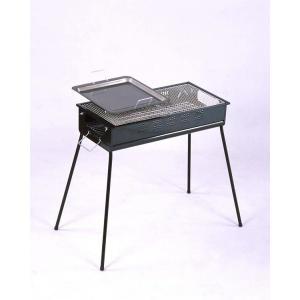 バーベキューコンロ(網 鉄板 焼き グリル メッシュ 炭 鉄板 プレート 焼 肉 鳥 キャンプ用品)|tricycle