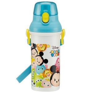 Disney ツムツム 食洗機対応直飲みプラワンタッチボトル 480ml PSB5SAN(水筒)|tricycle