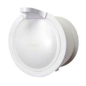 三栄水栓 SANEI Mog ウォール ソープ ディスペンサー ホワイト(石鹸 シャンプー リンス ボトル ラック おしゃれ 手洗い 洗剤 入れ 容器)|tricycle