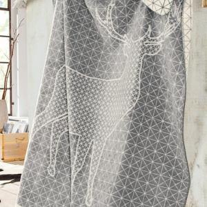 IBENA イベナ ブランケット JAGD ヤークト 約150×200cm(ソファカバー マルチカバー ベッド おしゃれ)|tricycle