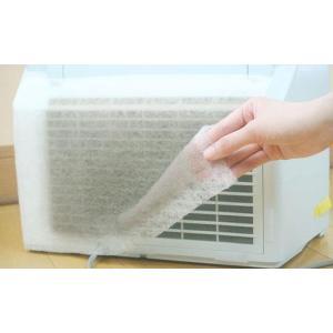 空気清浄機用 ホコリ吸着フィルター 2枚入×5セット(加湿器 換気扇 防塵 粘着加工)|tricycle