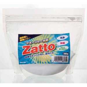 マネージャー洗剤 Zatto(ザット 野球 ユニフォーム 専用 洗濯 洗剤 酵素 漂白)|tricycle
