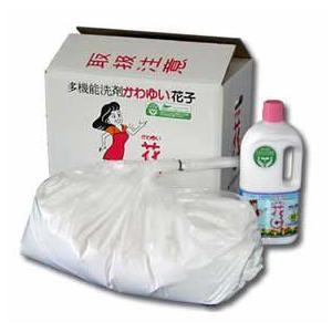 酸素系多目的洗剤 花子 10kg 業務用(かわゆい花子 洗濯 洗浄 除菌 脱臭 消臭)|tricycle