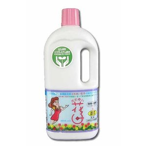 かわゆい花子 1kgボトル入り(1kg エコ 洗剤 ランキング 洗濯 革命 洗浄 除菌 脱臭 酵素 消臭)|tricycle