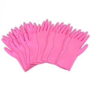 左右兼用 薄型 家庭用ゴム手袋 10枚入(ゴム手袋 キッチン用品 人気)