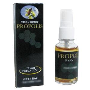プロポリススプレー 30ml入(サプリメント 液体 ジャタイ蜂蜜 モロニック酸含有 健康食品)|tricycle