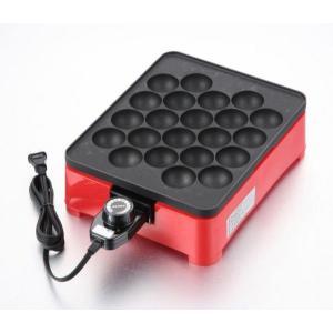 着脱式角型電気たこ焼き器22穴(たこ焼き器 機 ホットプレート たこ焼きパーティー 具)|tricycle