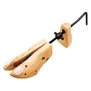 シューズフィッター 2ヶ組(シューキーパー 木製 レディース メンズ 靴 サイズ 調整 かかと)|tricycle