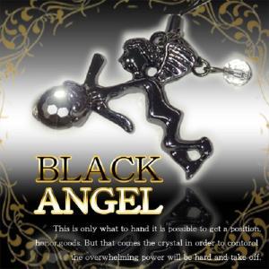 ブラックエンジェル(開運 グッズ 天然石 パワーストーン アクセサリー ゴールドラッシュ 金運)|tricycle