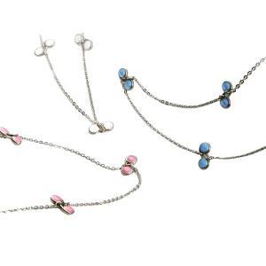 フィオラは美しさと健康を兼ね備えた磁気ネックレスです。N極S極交互配列のコバルト永久磁石を使用し、貴...