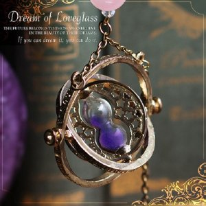 恋夢の砂時計 Dream of loveglass(開運 グッズ 天然石 パワーストーン アクセサリー)|tricycle