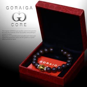 GORAIGA CORE ゴライガ コア(タイガーアイ パワーストーン 風水 お守り 数珠 ブレスレット)|tricycle