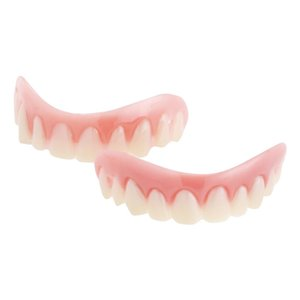 ワンタッチで取り付けられる、インスタントスマイルの上用ティース(仮歯・義歯)です。ティース本体と接合...