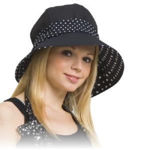 Kate Ruber ケイトルーバー ハリウッド UVキャスハット(UVカット 女優帽 バケットハット キャスケット ストール)|tricycle