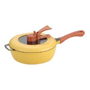 レミ・ヒラノ レミパン サイズ 24cm(深型 万能 フライパン レシピブック付 IH対応 調理 料理 用品 キッチン 便利 グッズ)|tricycle