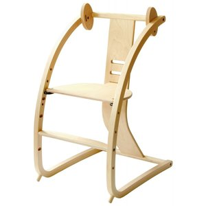 Sdi Fantasia Bambini バンビーニ 日本製 チェア STC-01(椅子 子供 乗用玩具 木馬 おもちゃ 足置き 木製 ベビーチェア ハイタイプ)|tricycle